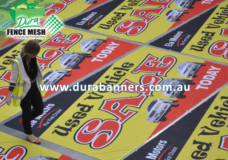 Large Used Car SALE Banners for a leading dealer