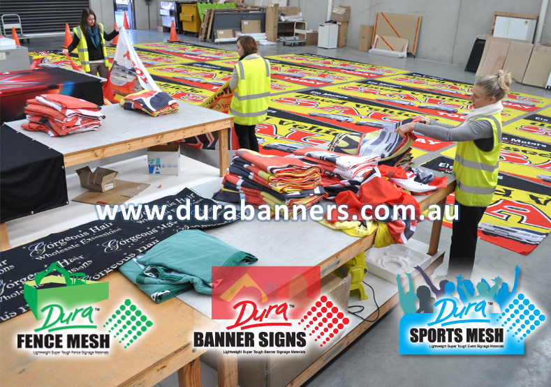 Banner Makers for our Australia clients and agencies