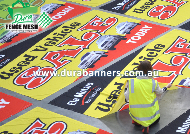 Fence Wrap Banners